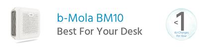 b-Mola BM10 Air Purifier The Best For Your Desk